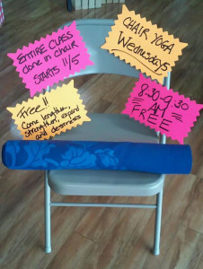 Get Fit Where You Sit! Chair Yoga - CANCELLED @ Bulk It | Lenexa | Kansas | United States