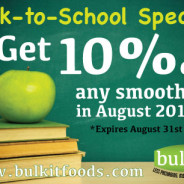 Back-to-School Special for August