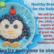 THIS SATURDAY Holiday Breakfast – Dec. 26th, 2015