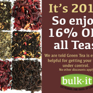16% OFF All Teas