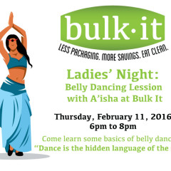 Ladies' Night: Belly Dancing Lesson with A'isha @ Bulk It