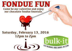 Fondue Fun @ Bulk It | Lenexa | Kansas | United States