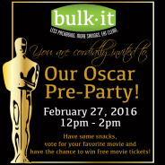 Oscar Pre-Party @ Bulk It
