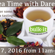 Tea Time with Darene at Bulk It