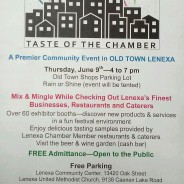 Business Blast & Taste of the Chamber @ Old Town Lenexa