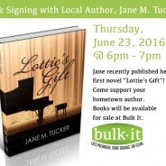 Book Signing with Local Author, Jane M. Tucker