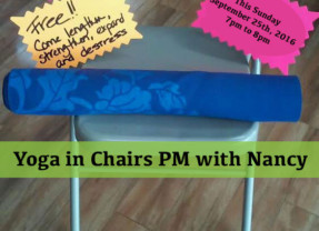 Yoga in Chairs PM with Nancy