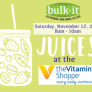 Juice Sampling at The Vitamin Shoppe