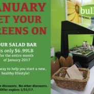 Get Your Greens On – Salad Bar Sale