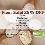 Flour Sale! 25% OFF