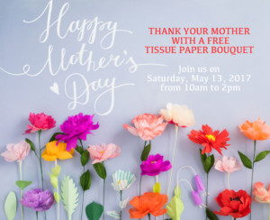 Mother's Day Tissue Paper Bouquet FREE @ Bulk It | Lenexa | Kansas | United States