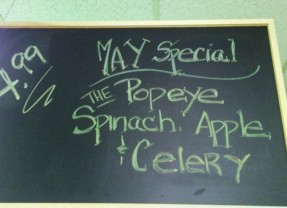 May Juice Special – The Popeye