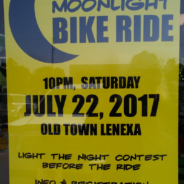 Lenexa Moonlight Bike Ride 2017