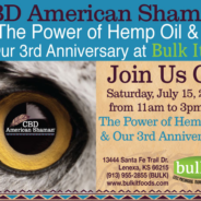 The Power of Hemp Oil & Bulk It's 3rd Anniversary