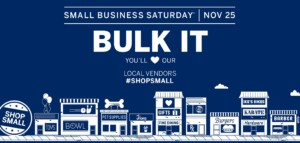 Small Business Saturday @ Bulk It | Lenexa | Kansas | United States