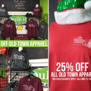 25% OFF All Old Town Lenexa Apparel