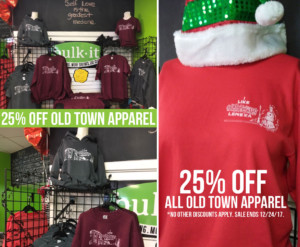 25% OFF All Old Town Lenexa Apparel @ Bulk It | Lenexa | Kansas | United States