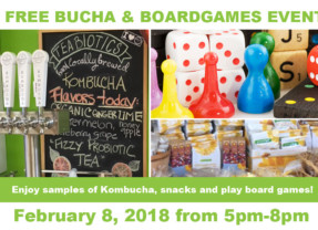 FREE Bucha and Boardgames Event