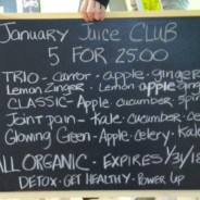 January Juice Club 2018