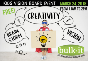 Kids Vision Board Event @ BulkIt | Lenexa | Kansas | United States