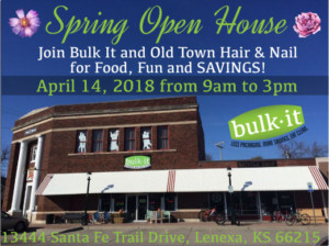 Spring Open House @ Bulk It | Lenexa | Kansas | United States
