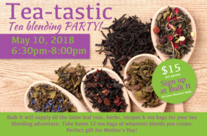 Tea-Tastic Tea Blending Party @ Bulk It | Lenexa | Kansas | United States