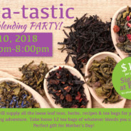 Tea-tastic Tea Blending Party