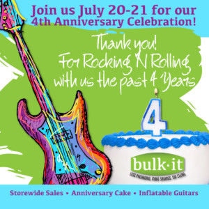 4th Anniversary Celebration @ Bulk It | Lenexa | Kansas | United States
