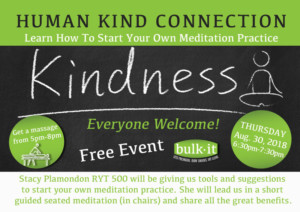 Human Kind Connection - Meditation @ Bulk It | Lenexa | Kansas | United States