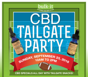 CBD Tailgate Party @ Bulk It | Lenexa | Kansas | United States