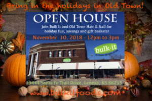 Fall Open House 2018 @ Bulk It | Lenexa | Kansas | United States