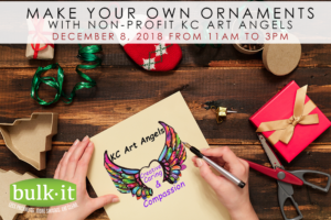 Make Holiday Ornaments with KC Art Angels @ Bulk It | Lenexa | Kansas | United States