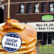 FREE Pancakes for Small Business Saturday