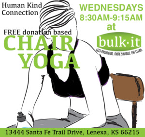 Chair Yoga - FREE Human Kind Connection Event @ Bulk It