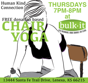 Human Kind Connection - Chair Yoga @ Bulk It