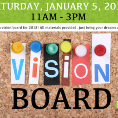 Vision Boards 2019 – FREE EVENT