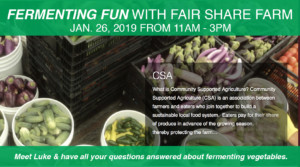 Fermenting Fun With Fair Share Farms @ Bulk It