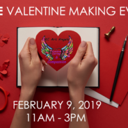 FREE Valentine Making Event